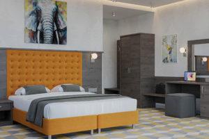 Коллекция мебели для гостиниц и отелей Гарда