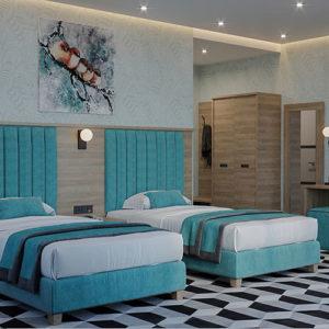 Комплект мебели для гостиниц и отелей в стиле неоклассика
