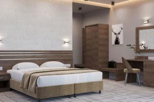 Коллекция мебели для гостиниц Альма